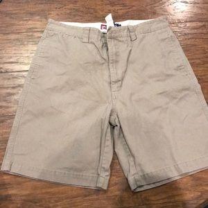 Men's Chaps Khaki Shorts Size 32